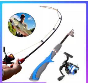 Fishing rod and reel set