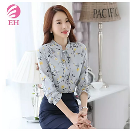 Woman's floral blouse lazada