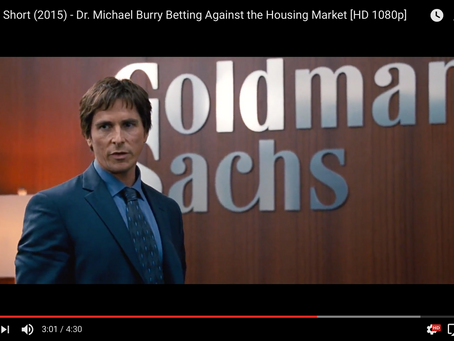 """We just bet against the entire American economy ... and won.""   -- from the film 'The"