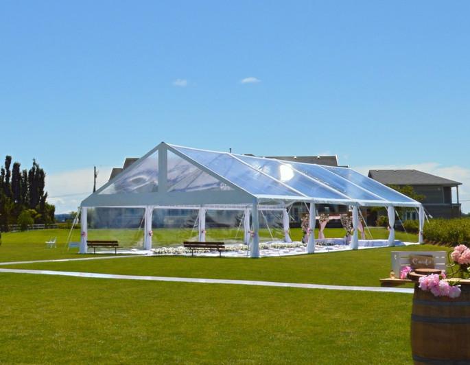 40 x 80 Clear Span Mega Frame Tent