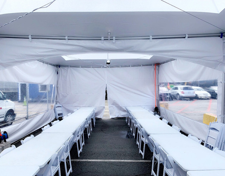 Skylight Marquee Tent