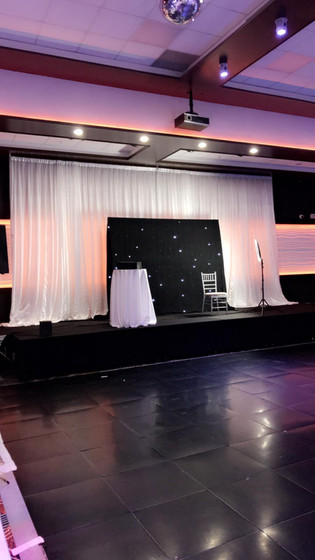 Pipe and Drape Backdrop