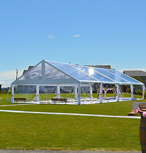 Clear Span tent