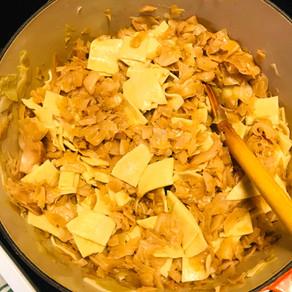 Kaposztas Teszta (Pasta with Cabbage, Hungarian-style)