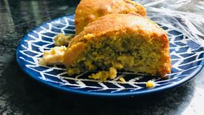 Honeyed Fruit Polenta Cake