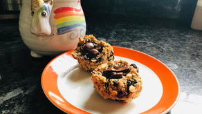 Almond Berry Breakfast Cookies (or Granola)