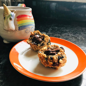 Almond Berry Breakfast Cookies (or Granola)