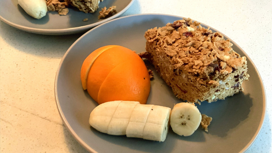 Peanut Butter Cereal Bars (no-bake)