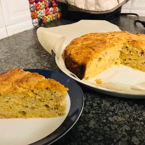 Rhubarb Ricotta Cake
