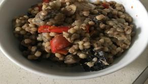 Mushroom and Chicken Pasta Bake
