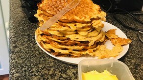 Browned-butter Waffles
