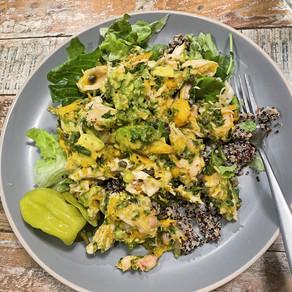 Mango-Avocado Chicken Salad
