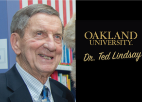 Oakland University Presents Ted Lindsay with Honorary Doctorate