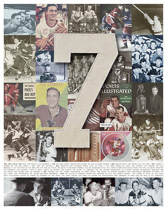 Number 7 Collage Photo