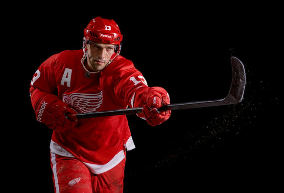 Pavel Datsyuk Stick Picture