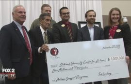 Ted Lindsay Foundation donates $1 MILLION to OU Autism Center