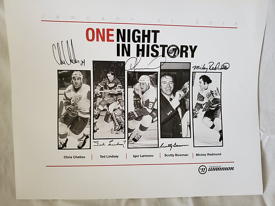 One Night in History Poster