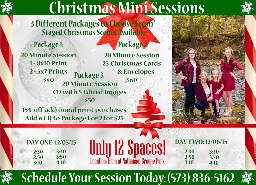 Visual Impressions - Christmas Mini Sessions