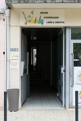Atelier créatif vaison, activités enfants vaison, atelier de peinture
