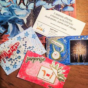 carte cadeau, atelier volubilis, cadeau enfant