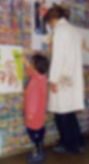 Atelier de peinture enfants adultes à Vaison