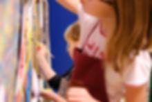 Stage peinture enfants à Vaison