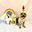 Thumbnail: Unicorn Plush Dog Toy