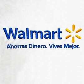 Bordado de uniformes, walmart logo, 300 kb, uniformes