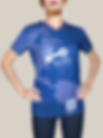 Playera para unformel, playera full print cuello V para uniforme UNILEVER, 42 kb, playera de uniforme