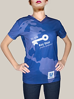 Playeras para eventos deportivos, playeras con sublimado