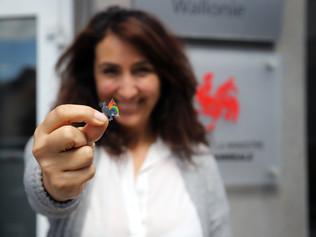Christie Morreale, Vice-Présidente du Gouvernement wallon et  Ministre de l'Egalité des chances,