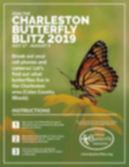 Charleston Butterfly Blitz Flyer 2019