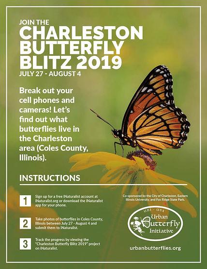 Charleston Butterfly Blitz Flyer 2019