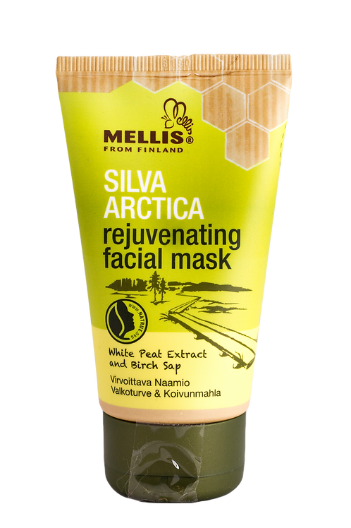Rejuvenating facial mask with white peat extract and birch sap