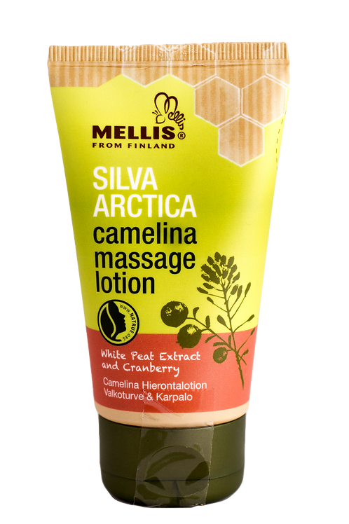 Camelina massage lotion - White peat extract and cranberry