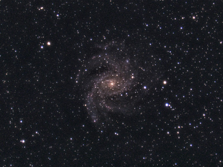 Imaging C12 / NGC6946 Fireworks Galaxy and Sky Quality Meter DataLogging