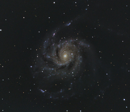 M101 Pinwheel Galaxy.....revisited 1 year on!