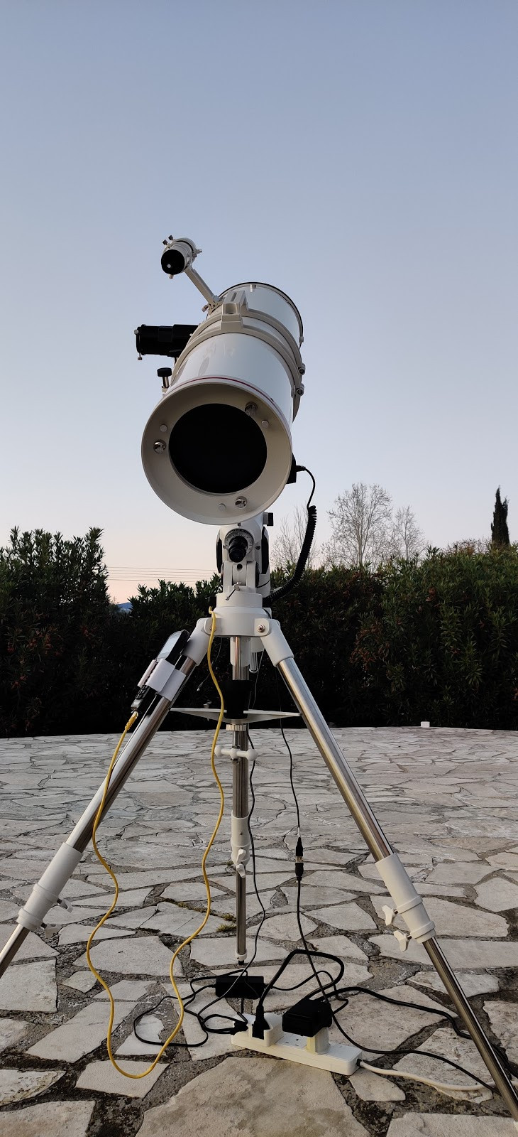 Scope Pointing North and Polaris Aligned