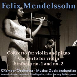 Mendelssohn: Concerto for piano and violin