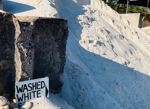 Washed White Sand