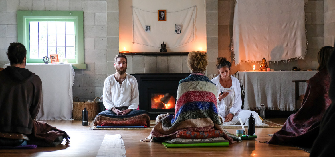 Sacred poetry reading, New Zealand 2017