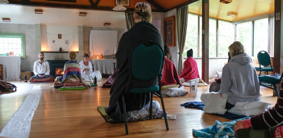 Silent meditation retreat, New Zealand 2017