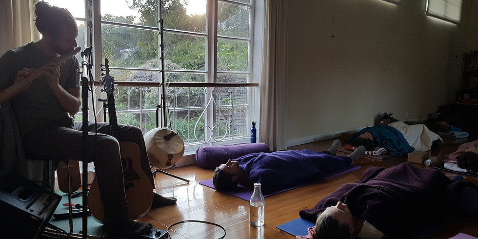 New Moon Tune In - Cacao, Restorative Yoga and Sound Journey
