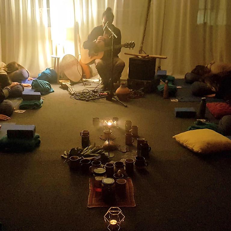 Winter Solstice Tune In - Cacao, Restorative Yoga and Sound Journey