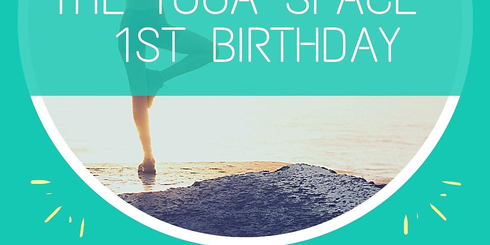 Free Meditative Hatha Class for Yoga Space's 1st Birthday