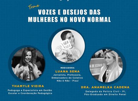 Festival online discute vozes e desejos das mulheres em tempos de pandemia