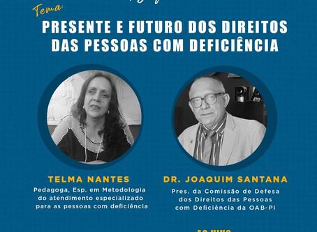Festival online discute presente e futuro dos direitos da pessoa com deficiência