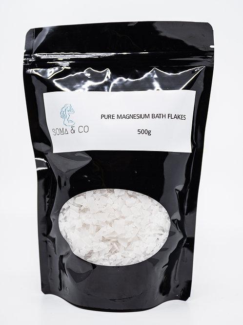 Pure Magnesium Bath Flakes