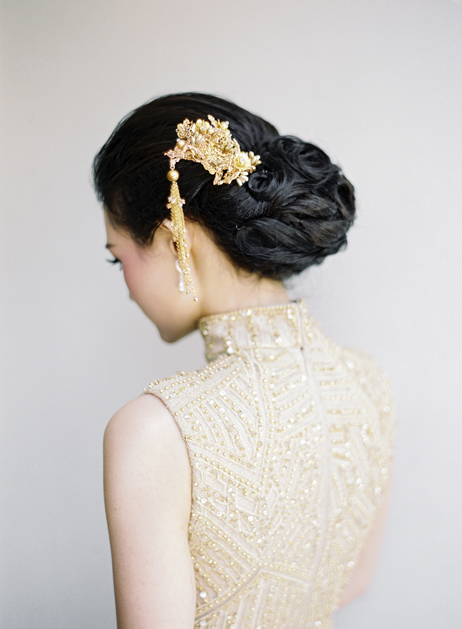 chinese wedding portrait