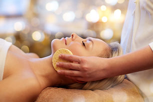 Facial, spa treatment